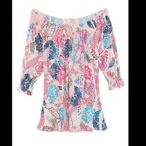 Tops - Off the Shoulder Floral Top - NEW!! Size 8