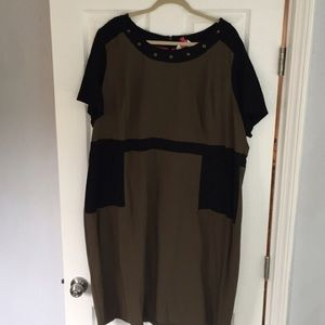 Simply Be Dresses & Skirts - Simply Be color block fitted dress