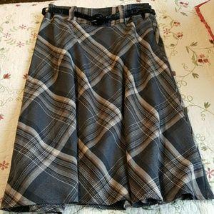 East 5th Dresses & Skirts - BOGO East 5th Plaid Skirt