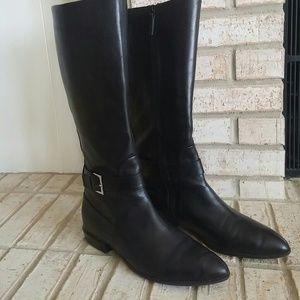 Nine West Shoes - Nine West Leather Riding Boots