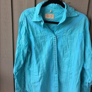 Scully Other - Scully women's xl western shirt