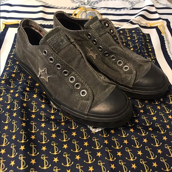 ad26f306eff7 Converse Shoes - Women s Converse One star- no laces needed.