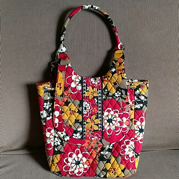 Vera Bradley Backpack Tote in retired Bittersweet 0c04d1d65df91