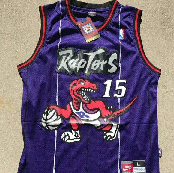 low priced 74af2 fb241 Old school Vince Carter Toronto Raptors Jersey NWT