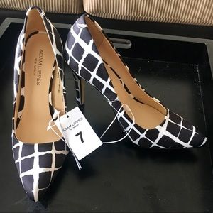 Adam Lippes for Target Shoes - Adam Lippes for Target Windowpane Satin Heels