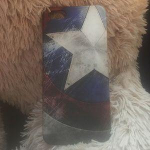 Marvel Accessories - Captain America phone case. iPhone 5s