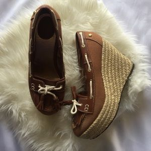 Sebago Shoes - Sebago Women's Size 8 espadrilles Wedges