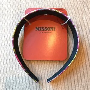 Missoni for Target Accessories - NWT Missoni for Target wide sateen headband