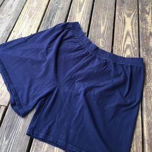 Just My Size Pants - Just My Size Relaxed Fit Blue Knit Shorts