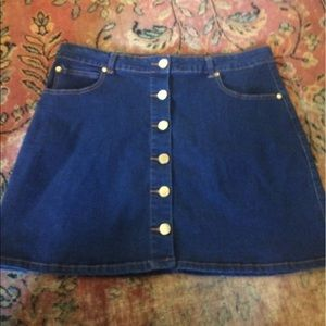 Fashion Nova Dresses & Skirts - Fashion Nova Mini Jean Skirt
