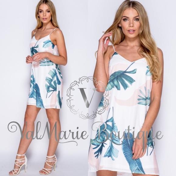 ValMarie Boutique Dresses & Skirts - Hawaiian Tropics Summer Dress