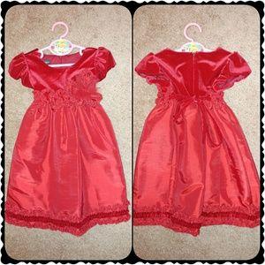 Isobella & Chloe Other - 🚨FINAL PRICE ⬇🚨NWOT: Red Velvet Toddler Dress: