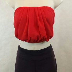 Body Central Tops - *NEW LISTING*Bubble Crop Top by Body Central.