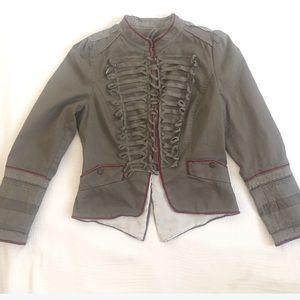 Zara Jackets & Blazers - Zara basic collection military jacket