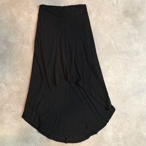 Alternative Dresses & Skirts - ALTERNATIVE high low black cotton skirt S