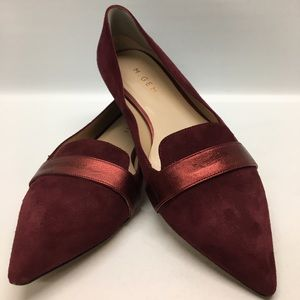 M. Gemi Shoes - M . Gemi Suede Pointed Flats