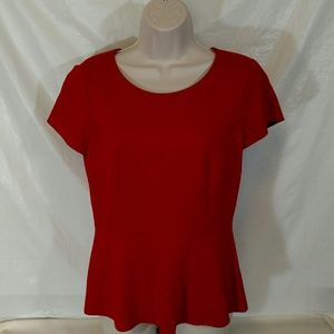 ANTONIO MELANI Tops - Antonio Melani  Shirt red size S