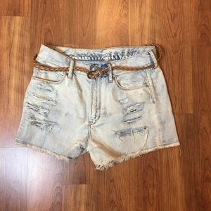 articles of society Pants - Distressed Jean shorts