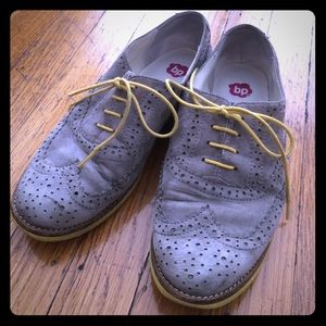 bp Shoes - Gray & yellow oxfords from Nordstrom BP in GUC 👞