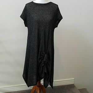 NWOT Comfy USA knit designer dress L ❄host pick❄