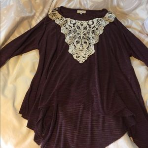 grace and lace Tops - High low Grace and Lace tunic