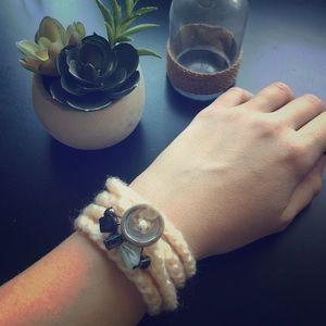 Jewelry - Crochet Wrap Bracelet