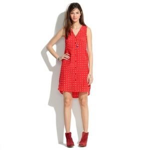 Madewell Silk Waterflower dress
