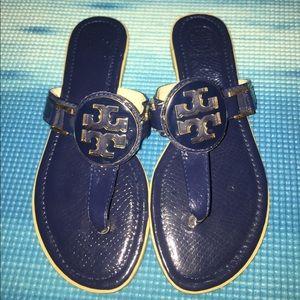 Tory Burch Shoes - Navy Blue Tory Burch Sandals