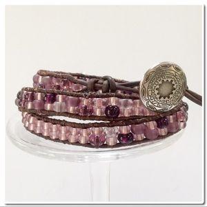 Handmade  Jewelry - Handmade 3X Wrap Bracelet