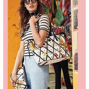 MCM Handbags - Mcm reversible shopper new includes pouch