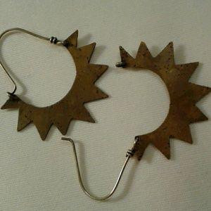 Jewelry - Starburst hoops
