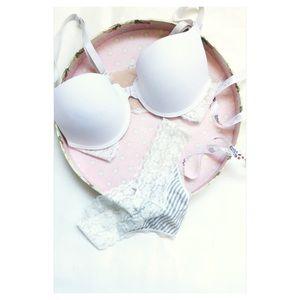 bijou Other - White bra