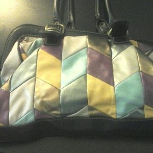 3Pommes Handbags - MULTI COLOR HAND BAG