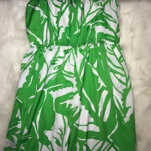Lilly Pulitzer for Target Pants - Tropical Print Romper with Spaghetti Straps