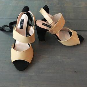 Eloquii Shoes - Eloquii color block heel
