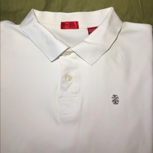 IZOD white polo shirt