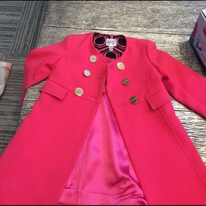 Milly Minis Other - Milly minis coat, size 4t. Strong pink.
