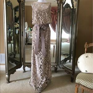 Tadashi Shoji Dresses & Skirts - Tan/taupe Tadashi Shoji gown