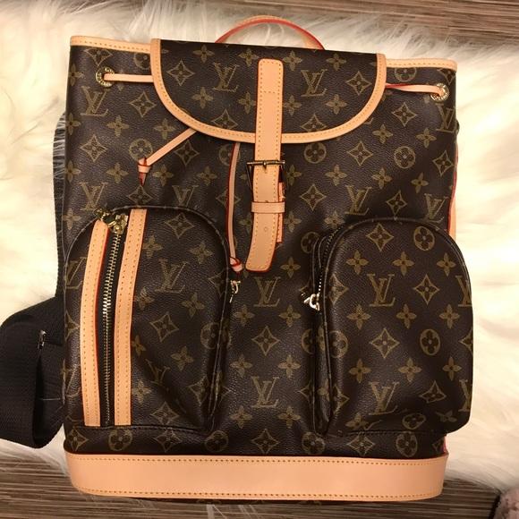 dcde47b9fe20 Louis Vuitton Handbags - Bosphore Backpack. Lowest Price.