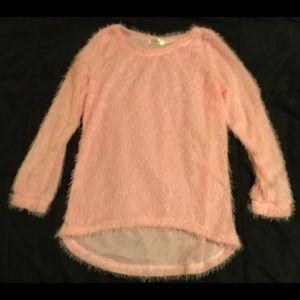 Fuzzy Pink Shirt