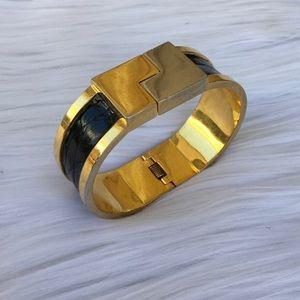 Loewe Jewelry - GOLD BLACK LOEWE CUFF BRACELET