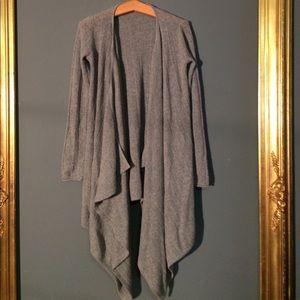 Calypso St. Barth Sweaters - ❤️Calypso St. Barth Grey💯 Cashmere Cardigan Sz XS