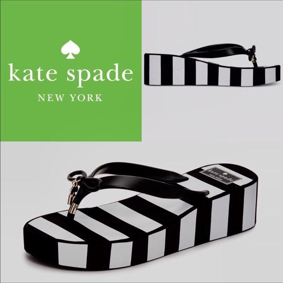 3334792ec949 FINAL PRICE🆕Kate Spade Rhett Striped Sandals