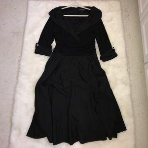 Jessica Howard Dresses & Skirts - All Black Elegant Dress