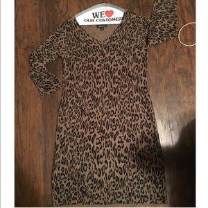 alyx Dresses & Skirts - Alyx leopard print sweater dress