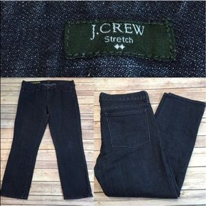 J. Crew Denim - 🆕Sz 31 J. Crew Toothpick Denim Dark Cropped Jeans