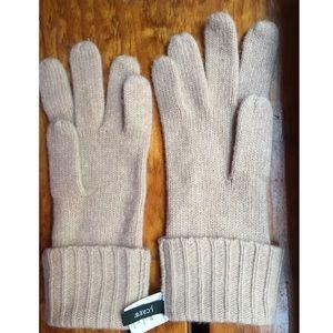 J. Crew Accessories - J. Crew Long Cashmere Gloves EUC