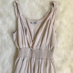 Dresses & Skirts - Cream Maxi Dress