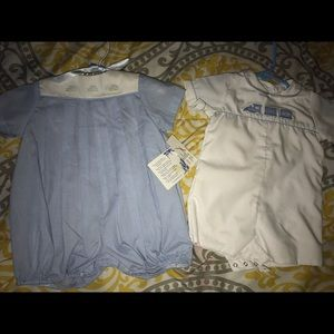 Baby Be Mine Tops - little Boys  Boutique Outfits Both are included