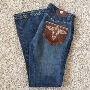 antik denim Denim - Antik Denim Western Bootcut Jeans SZ 30